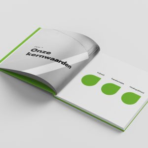 Copywriter kernwaarden brandbook