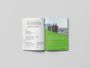 Franchise brochure binnenzijde tekstschrijver Groningen